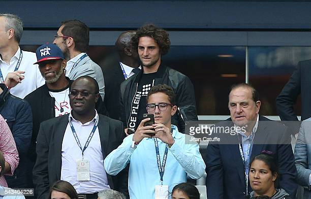 Adrien Rabiot attends the UEFA Euro 2016 round of 16 match between Italy and Spain at Stade de France on June 27 2016 in Paris France