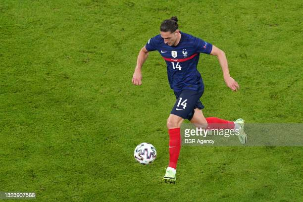 Adrien Rabiot of France during the UEFA Euro 2020 match between France and Germany at Allianz Arena on June 15, 2021 in Munich, Germany