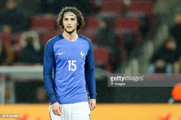 Adrien Rabiot of France looks on during the International friendly match between Germany and France at RheinEnergieStadion on November 14 2017 in...