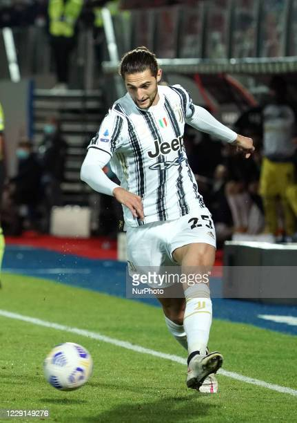 Adrien Rabiot of Juventus Fc during the Serie A match between Fc Crotone and Juventus Fc on October 17 2020 stadium quotEzio Scidaquot in Crotone...