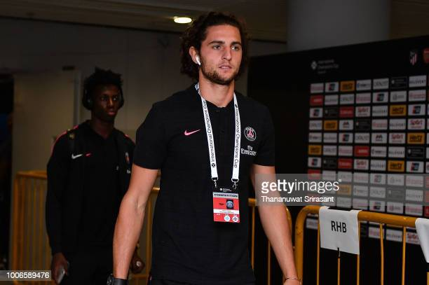 Adrien Rabiot of Paris Saint Germain walks during the International Champions Cup match between Arsenal and Paris Saint Germain at the National...