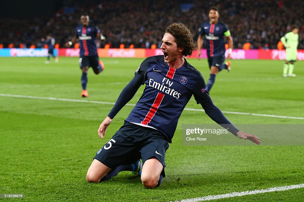 Paris Saint-Germain v Manchester City FC - UEFA Champions League Quarter Final: First Leg : News Photo