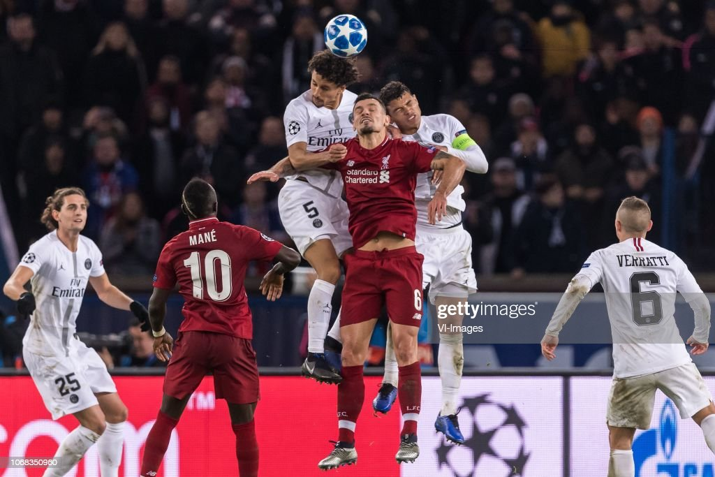 UEFA Champions League'Paris St Germain v Liverpool FC' : News Photo