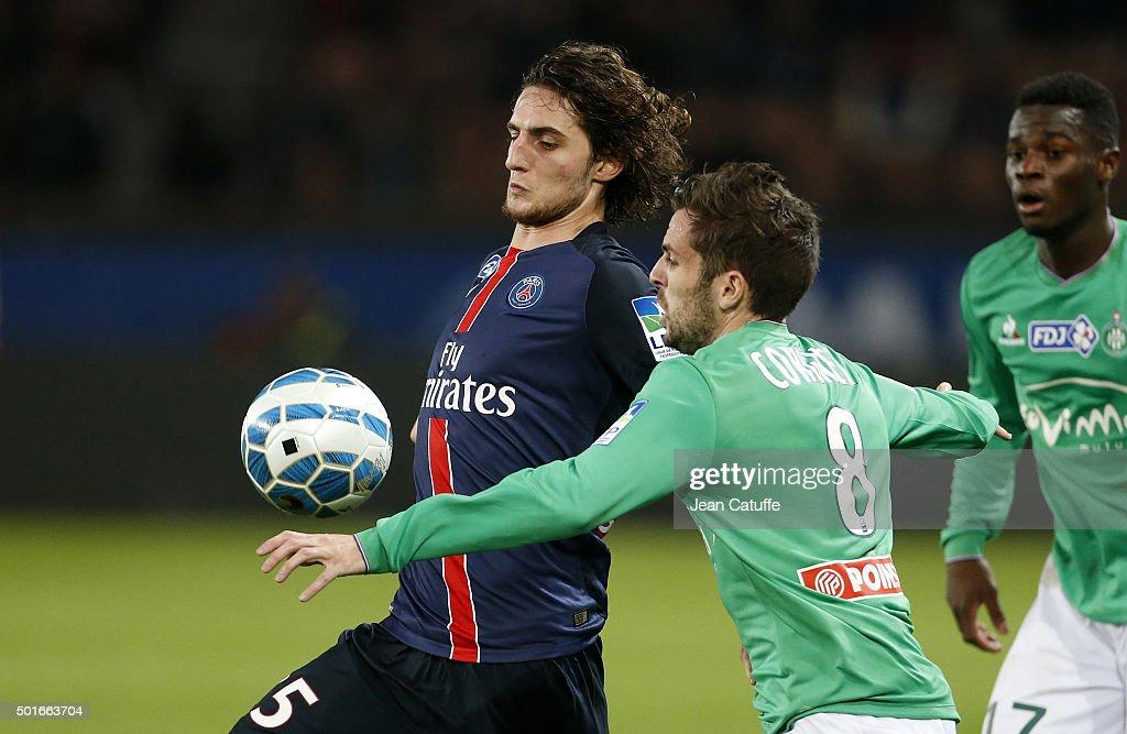 Paris Saint-Germain v AS Saint-Etienne - French League Cup : Nachrichtenfoto