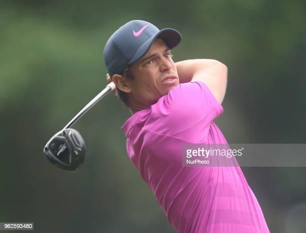 Adrien Saddier during The BMW PGA Championship Round 2 at Wentworth Club Virgnia Water Surrey United Kingdom on 25 May 2018