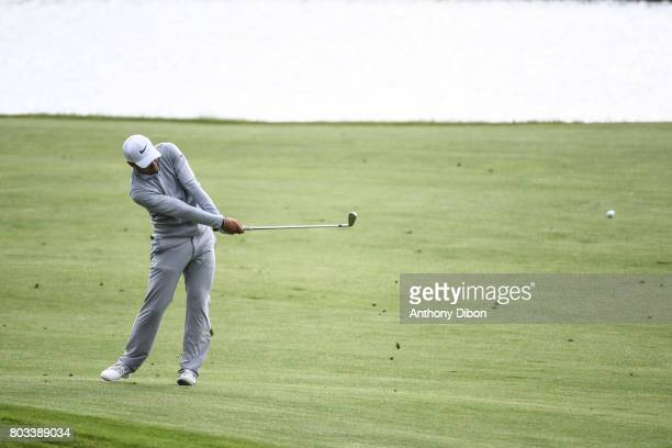 Adrien Saddier during the day 1 of the HNA French Open on June 29 2017 in SaintQuentinenYvelines France