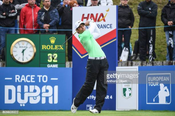 Adrien Saddier during the day 4 of the HNA French Open on July 2 2017 in SaintQuentinenYvelines France