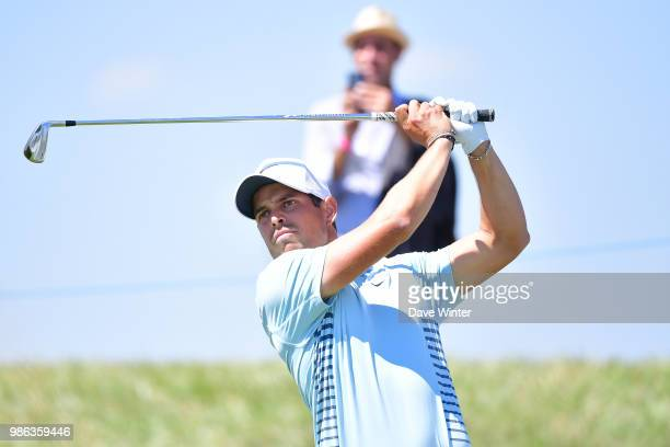 Adrien SADDIER of France during the HNA French Open on June 28 2018 in SaintQuentinenYvelines France