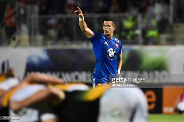 adrien Seguret of France during the U20 World Championship match between South Africa and France on June 7 2018 in Narbonne France