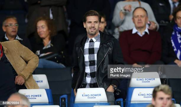 Adrien Silva at King Power Stadium ahead of the Carabao Cup third round match between Leicester City and Liverpool at King Power Stadium on September...