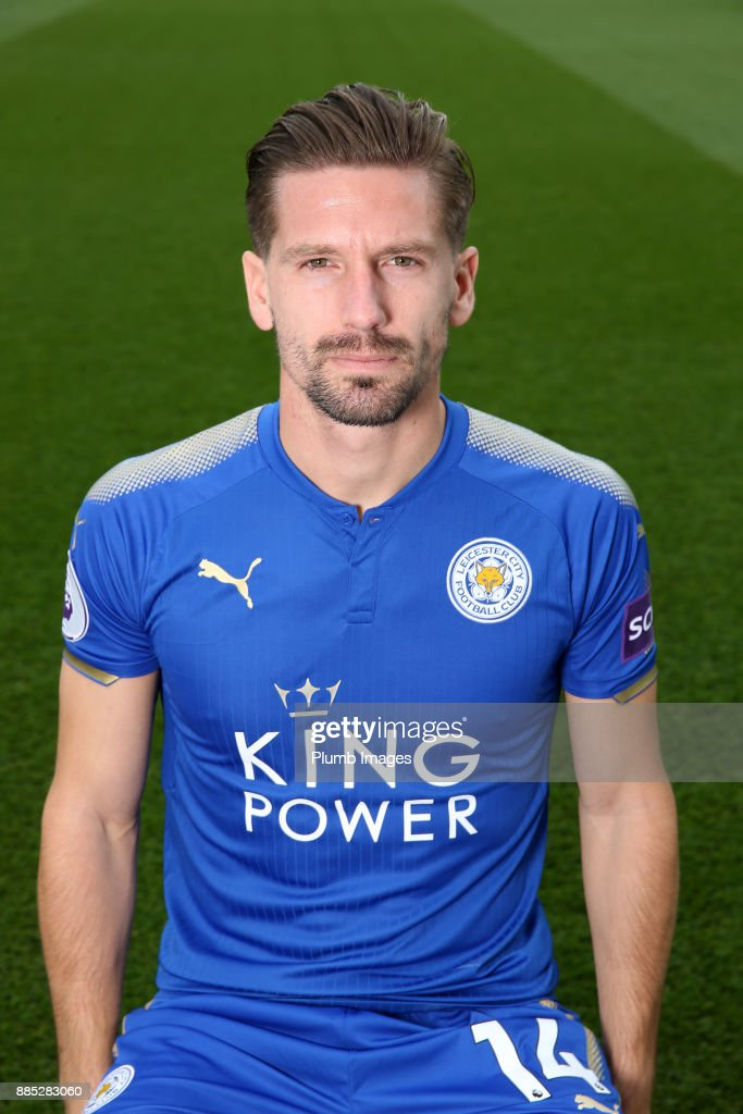 Adrien Silva during the Leicester City Official Team Group on November 1 , 2017 in Leicester, United Kingdom.