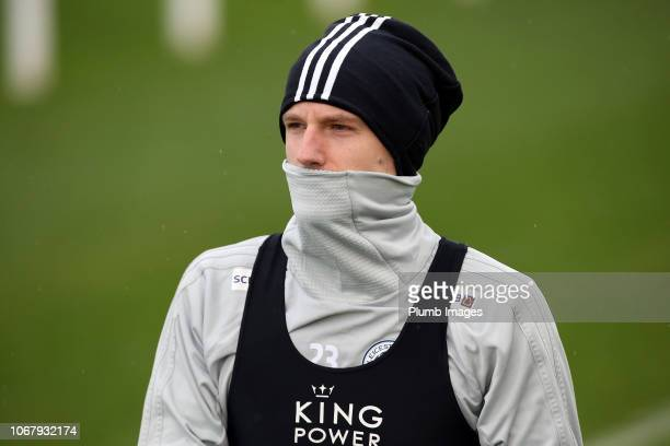 Adrien Silva during the Leicester City training session at Belvoir Drive Training Complex on December 03 2018 in Leicester United Kingdom