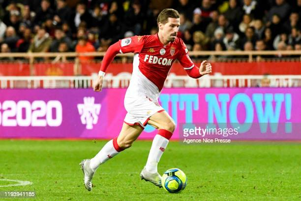 Adrien SILVA of Monaco during the Ligue 1 match between AS Monaco and Paris Saint-Germain on January 15, 2020 in Monaco, Monaco.