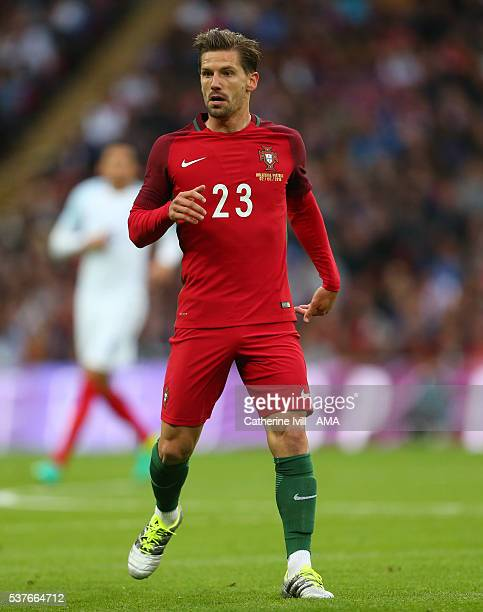 Adrien Silva of Portugal during the International Friendly match between England and Portugal at Wembley Stadium on June 2 2016 in London England