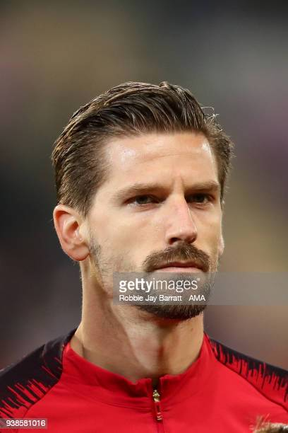 Adrien Silva of Portugal during the International Friendly match between Portugal and Holland at Stade de Geneve on March 26 2018 in Geneva...