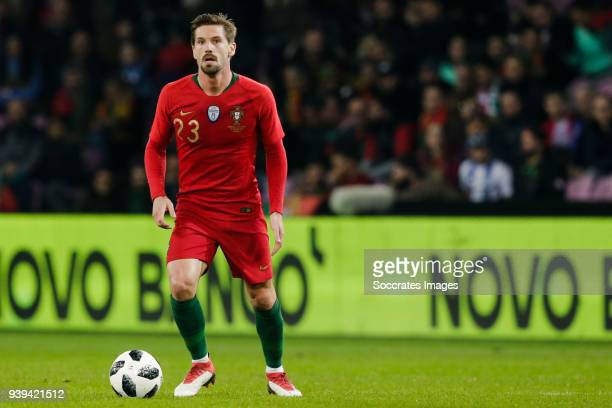 Adrien Silva of Portugal during the International Friendly match between Portugal v Holland at the Stade de Geneve on March 26 2018 in Geneve...