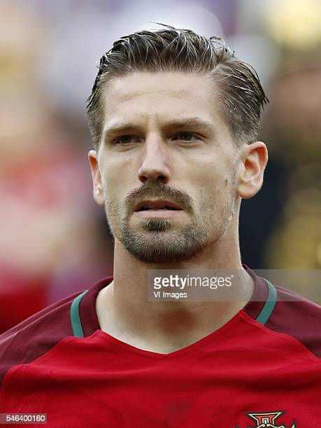Adrien Silva of Portugal during the UEFA EURO 2016 final match between Portugal and France on July 10 2016 at the Stade de France in Paris France