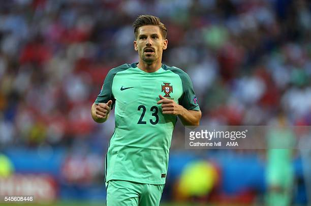 Adrien Silva of Portugal during the UEFA Euro 2016 semi final match between Portugal and Wales at Stade des Lumieres on July 6 2016 in Lyon France