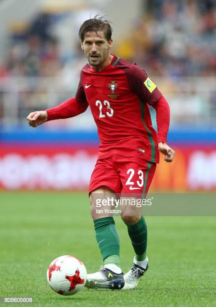 Adrien Silva of Portugal in action during the FIFA Confederations Cup Russia 2017 PlayOff for Third Place between Portugal and Mexico at Spartak...