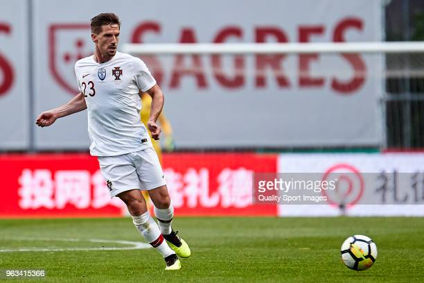 Adrien Silva of Portugal in action during the friendly match of preparation for FIFA 2018 World Cup between Portugal and Tunisia at the Estadio AXA...