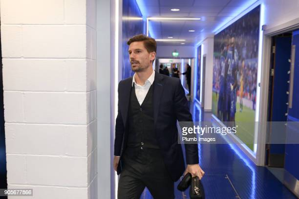 Adrien Sliva of Leicester City arrives King Power Stadium ahead of The Emirates FA Cup Third Round Replay between Leicester City and Fleetwood Town...
