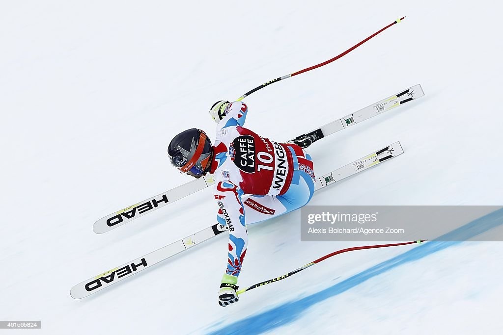 Audi FIS Alpine Ski World Cup - Men's Downhill Training : News Photo