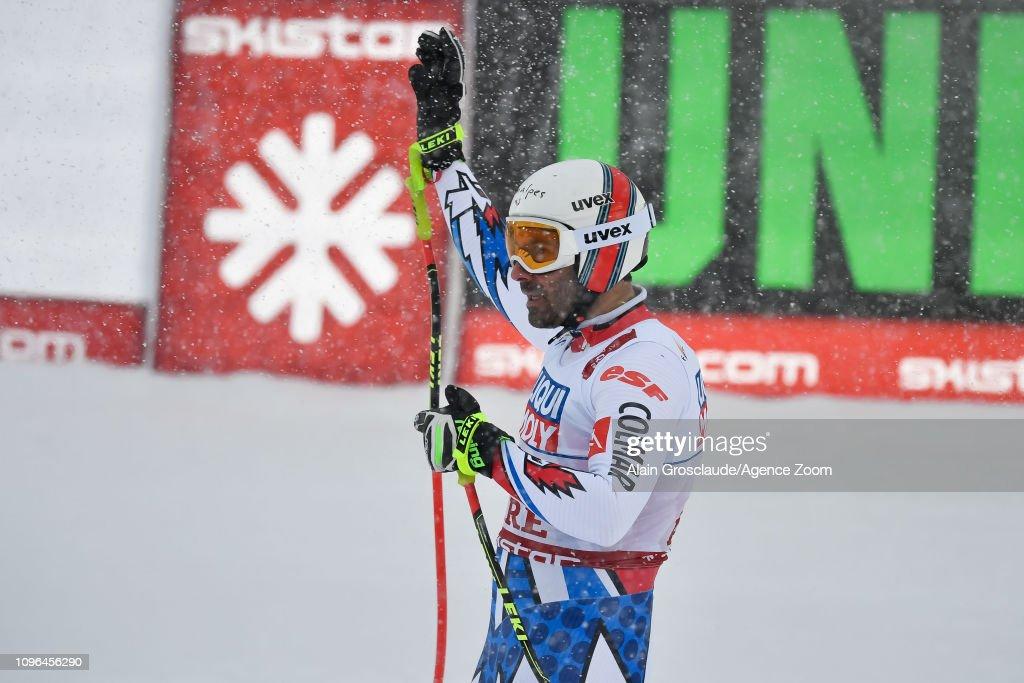 SWE: FIS World Ski Championships - Men's Downhill