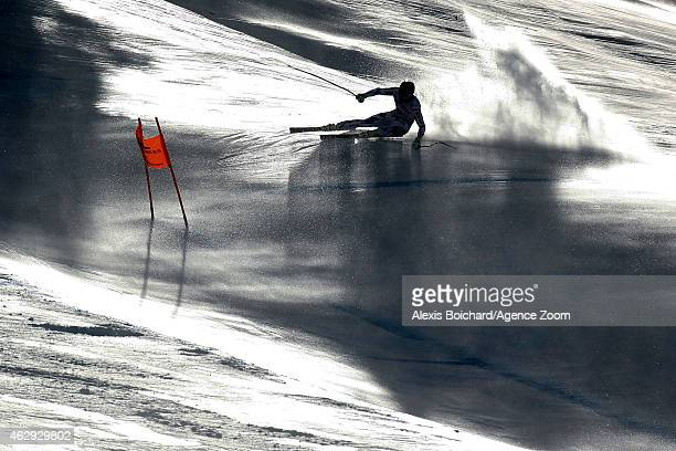 Adrien Theaux of France during the FIS Alpine World Ski Championships Men's Downhill on February 7 2015 in Beaver Creek Colorado