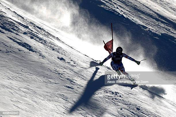 Adrien Theaux of Francecompetes during the Audi FIS Alpine Ski World Cup Men's Downhill Training on December 02 2014 in Beaver Creek Colorado