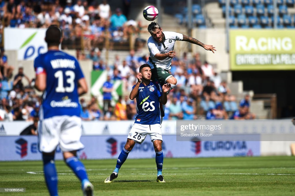 RC Strasbourg v AS Saint Etienne - French Ligue 1