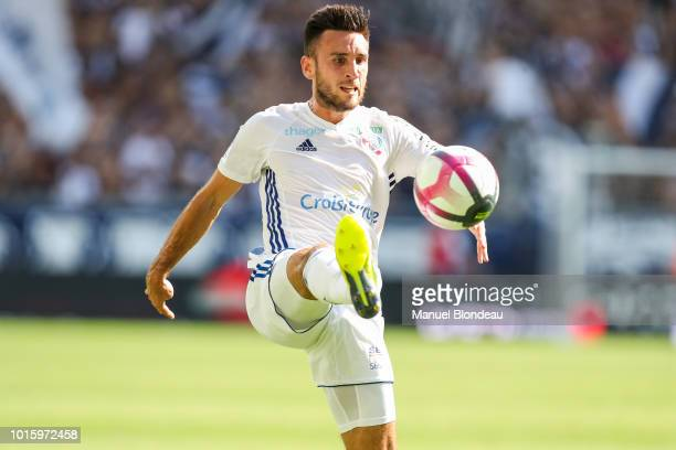 Adrien Thomasson of Strasbourg during the French Ligue 1 match between Bordeaux and Strasbourg at Stade Matmut Atlantique on August 12 2018 in...