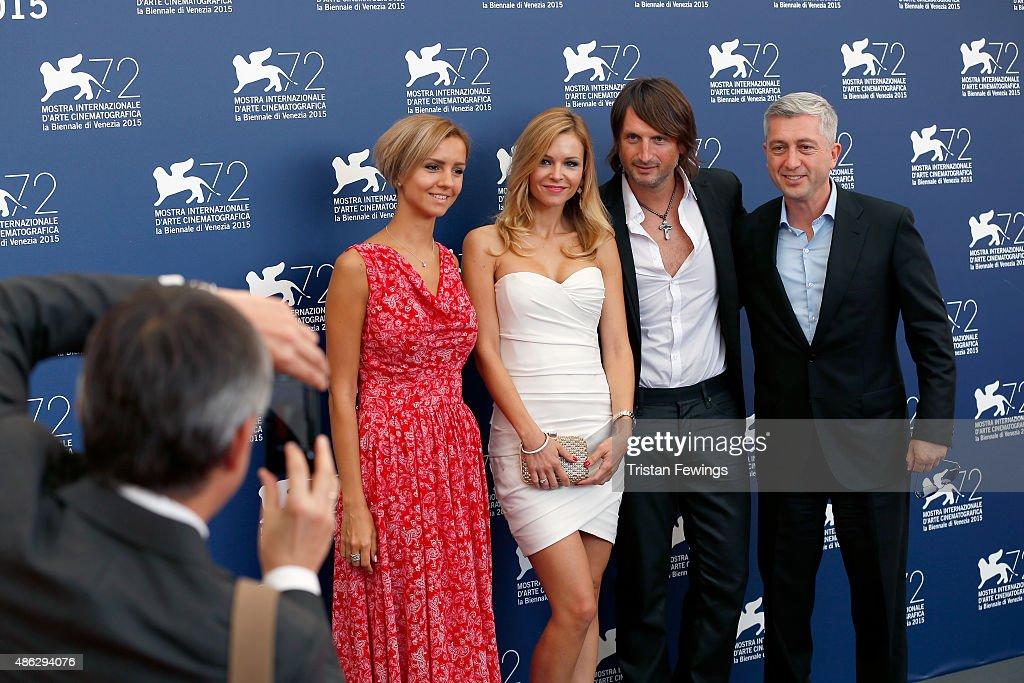 'Winter On Fire' Photocall - 72nd Venice Film Festival : News Photo
