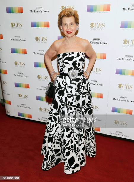 Adrienne Arscht attends the 40th Kennedy Center Honors at the Kennedy Center on December 3 2017 in Washington DC