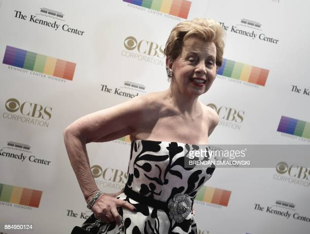 Adrienne Arsht arrives for the 40th Annual Kennedy Center Honors in Washington DC on December 3 2017 / AFP PHOTO / Brendan Smialowski