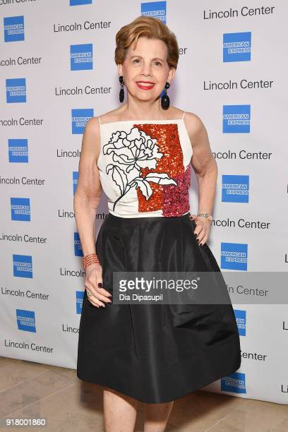 Adrienne Arsht attends the Winter Gala at Lincoln Center at Alice Tully Hall on February 13 2018 in New York City