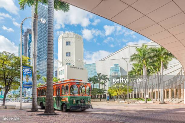 adrienne arsht center for the performing arts - county stock pictures, royalty-free photos & images