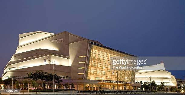 HANDOUT Adrienne Arsht Center for the Preforming Arts is located in Miami Florida