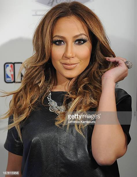 Adrienne Baillon attends NBA 2K13 Premiere Launch Party at 40 / 40 Club on September 26 2012 in New York City