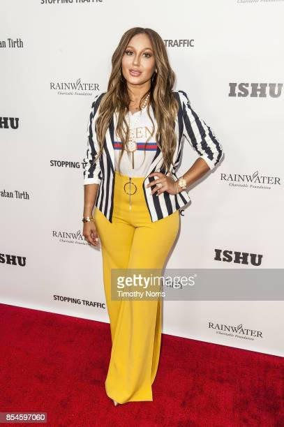 """Adrienne Baillon attends the premiere of """"Stopping Traffic: The Movement To End Sex Trafficking"""" at ArcLight Hollywood on September 26, 2017 in..."""