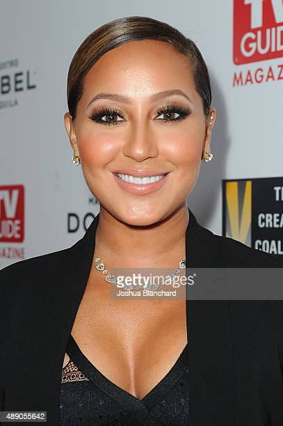 Adrienne Bailon arrives at the Television Industry Advocacy Awards benefitting The Creative Coalition hosted by TV Guide Magazine and TVInsider with...
