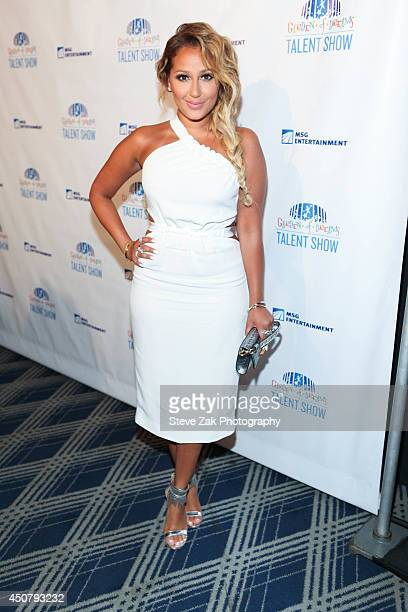 Adrienne Bailon attends 2014 'Garden of Dreams Hero' awards and talent show>> at Radio City Music Hall on June 17 2014 in New York City