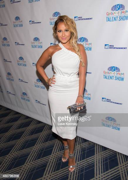 Adrienne Bailon attends 2014 'Garden of Dreams Hero' awards and talent show at Radio City Music Hall on June 17 2014 in New York City