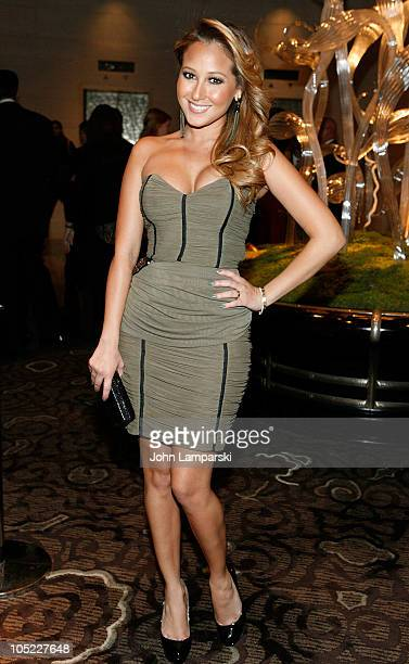 Adrienne Bailon attends Casita Maria Fiesta 2010 at the Mandarin Oriental Hotel on October 12 2010 in New York City