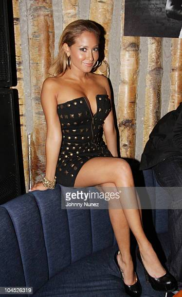 Adrienne Bailon attends Jeezy's birthday party at Butter on September 28, 2010 in New York City.