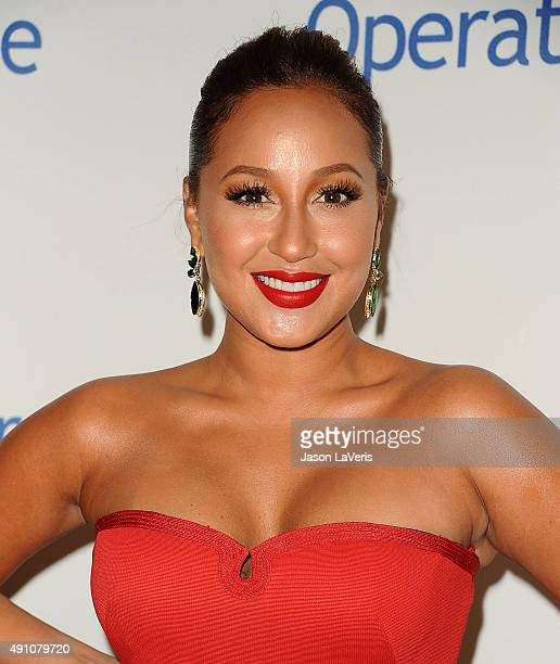 Adrienne Bailon attends Operation Smile's 2015 Smile Gala at the Beverly Wilshire Four Seasons Hotel on October 2, 2015 in Beverly Hills, California.