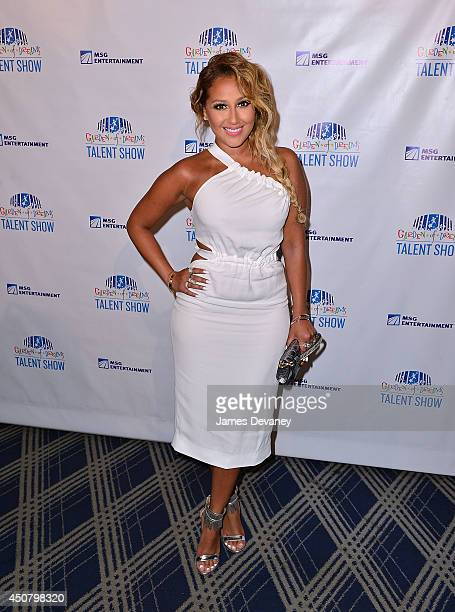 Adrienne Bailon attends the 2014 Garden Of Dreams Foundation Talent Show at Radio City Music Hall on June 17 2014 in New York City