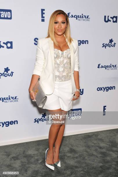 Adrienne Bailon attends the 2014 NBCUniversal Cable Entertainment Upfronts at The Jacob K Javits Convention Center on May 15 2014 in New York City