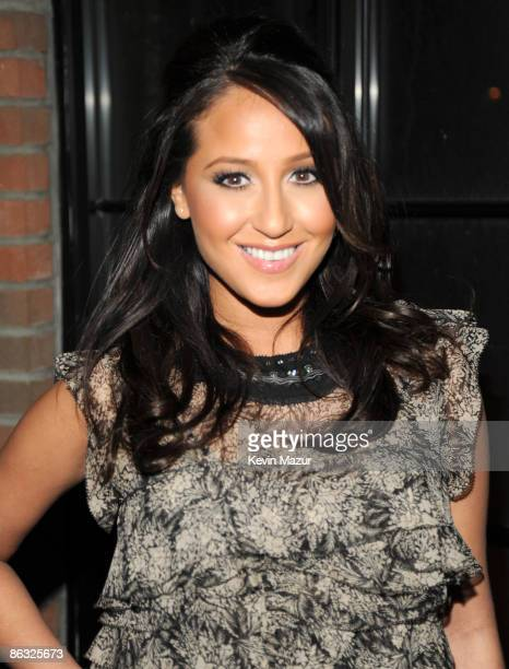 Adrienne Bailon attends the after party for the Cinema Society and MCM screening of Obsessed at the Bowery Hotel on April 23 2009 in New York City
