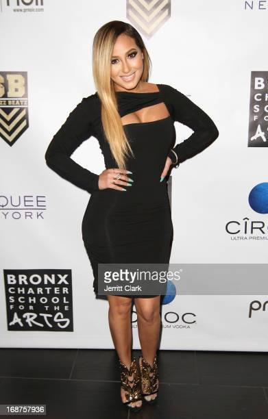 Adrienne Bailon attends the Bronx Charter School for the Arts 2013 art auction at Marquee on May 14 2013 in New York City