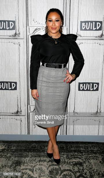 Adrienne Bailon attends the Build Brunch to discuss XIXI Jewelry Line at Build Studio on December 14 2018 in New York City